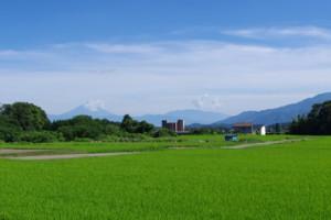 富士山を前面に望む土地が住まいや祭祀の場に選ばれた