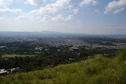歴史的風土特別保存地区:春日山からみた奈良市街