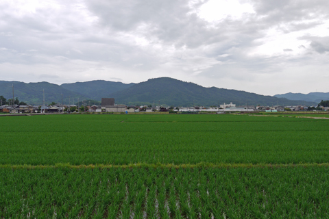 大和平野と三輪山