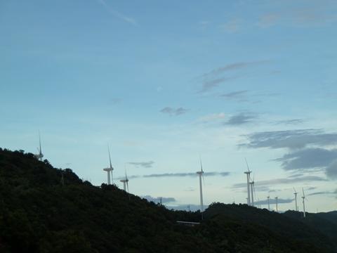 佐田岬風力発電