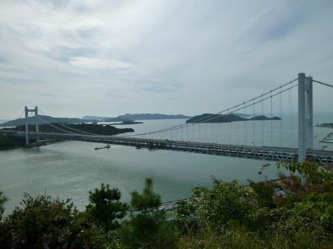 下津井鷲羽山からの眺望景観