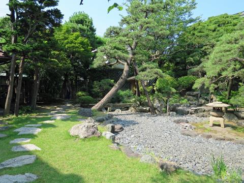 北方文化博物館新潟分館庭園