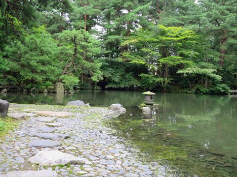 旧新発田藩下屋敷庭園清水園