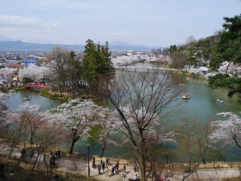 臥竜公園 写真提供:須坂市