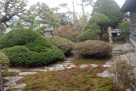 旧相馬邸庭園